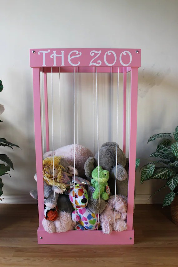 The Zoo Stuffed Animal Storage Cage