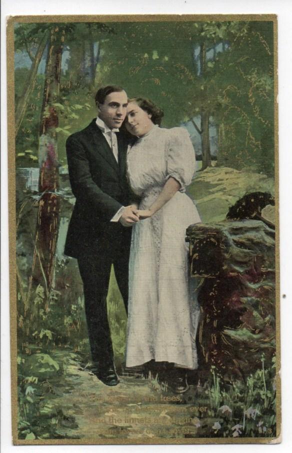 Antique Color Romantic Po...