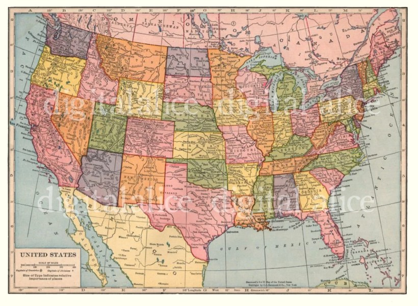 Map Of The United Stars  The United States In With Map Of The United     vintage hollywood stars map download digital printable stars of the golden  age hollywood california old hollywood with map of the united stars