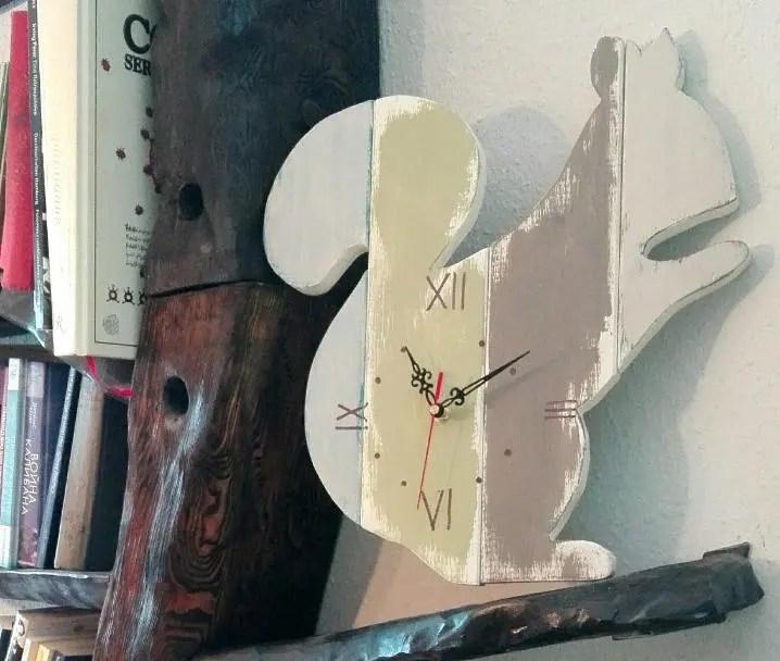 "Wall Clock ""squirrel..."