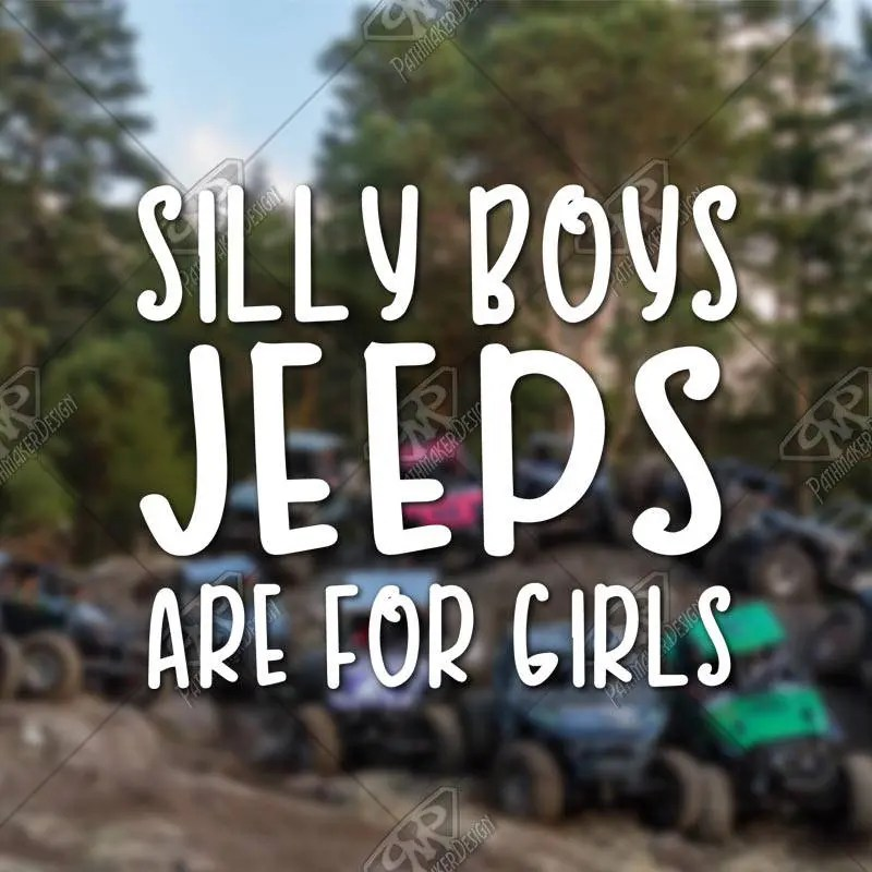 DECAL – [Silly Boys Jee...