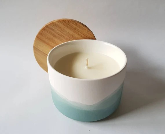 Misty Blue 100% Soy Candle