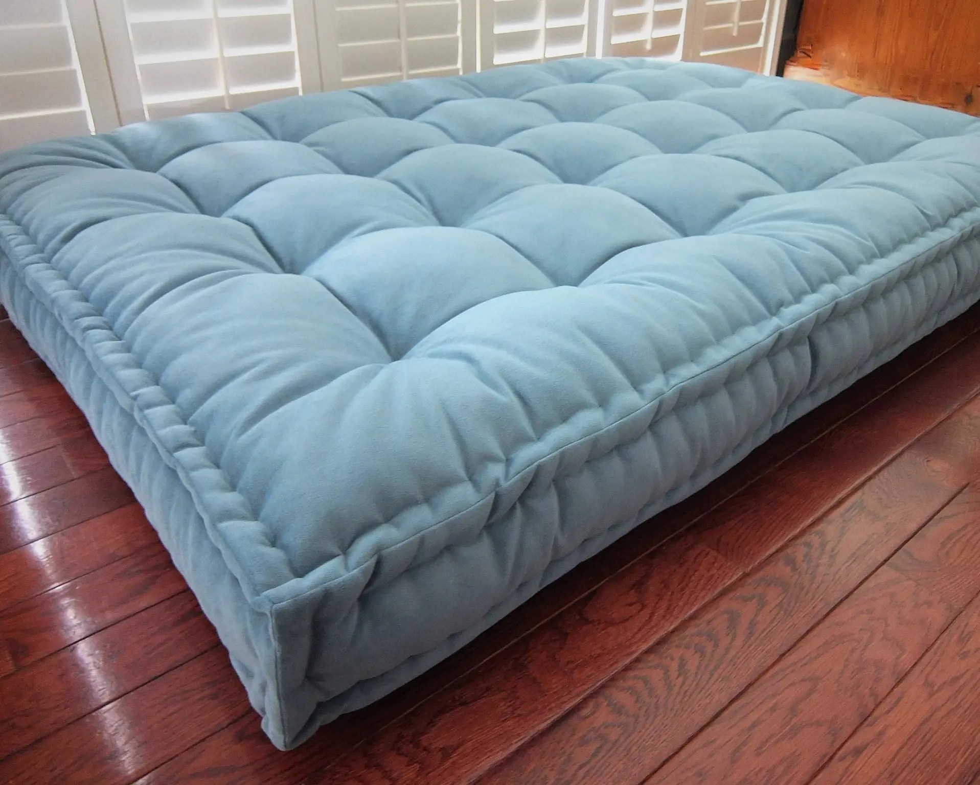 Custom Cushions Velvet Daybed Mattress French Mattress