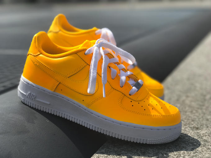 01d0146ac289 Nike Air Force 1 Sunset Yellow