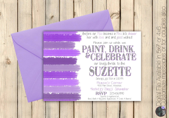 Bridal Shower Invitations Wording