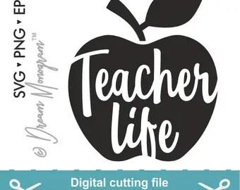 Download Teacher svg | Etsy