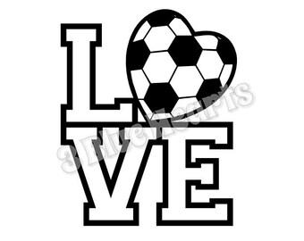 Download Soccer svg | Etsy