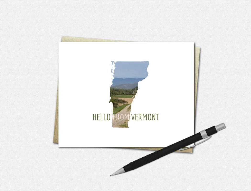 Vermont Note Cards - HELL...