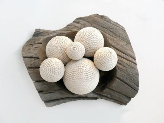 Beach Rope Ball Decor