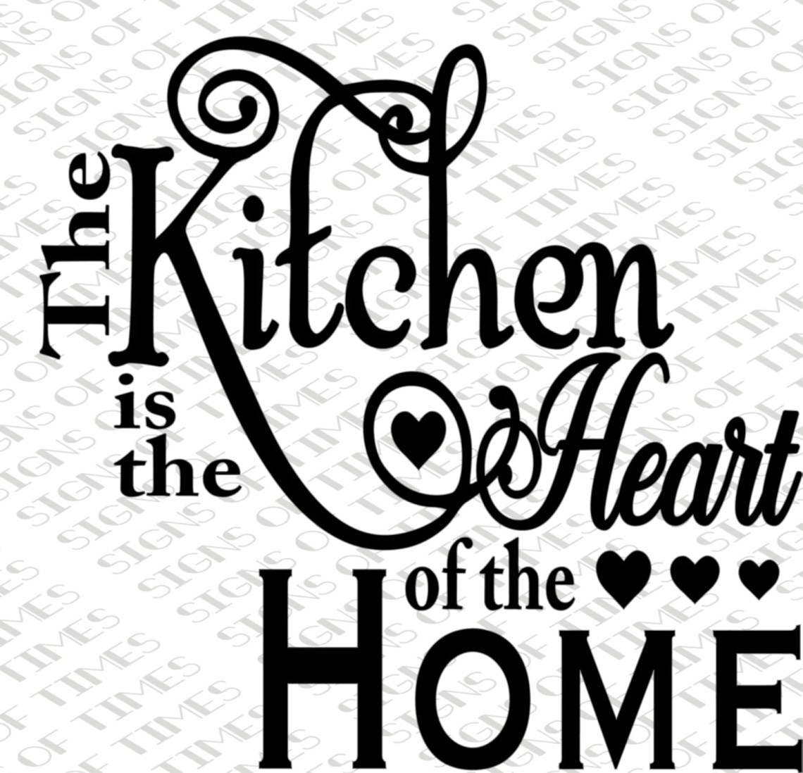 Download SVG, Kitchen is the Heart of the Home, Kitchen SVG, png ...