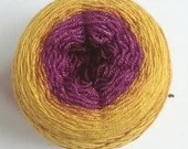 Hand dyed gradient 4ply y...