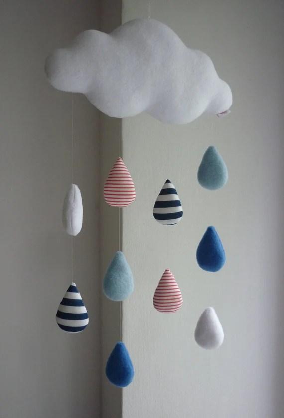 mobile nuage pluie