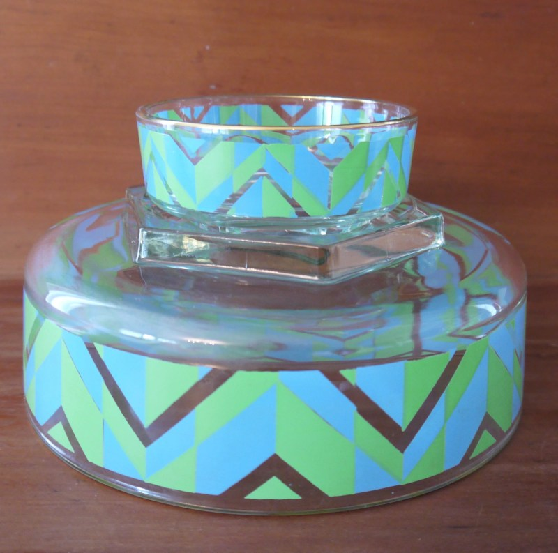 1950s Chip and Dip Bowls,...