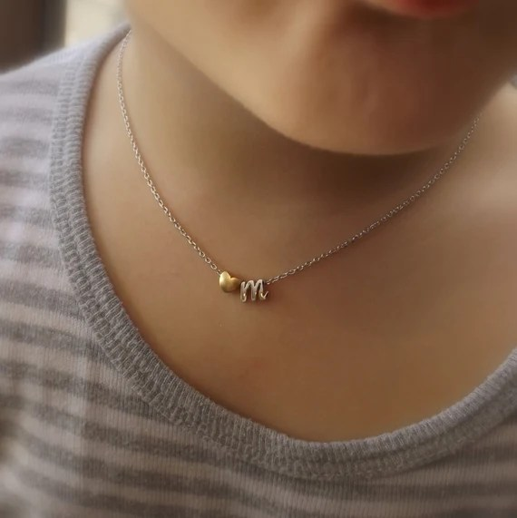 Children's Initial Necklace