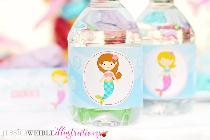 Kids Scientist Printable Water Bottle Wrapper Science Party