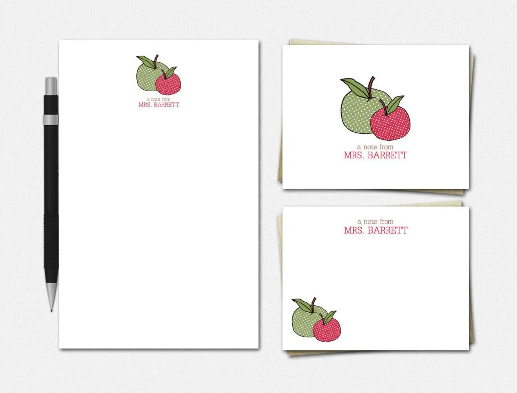 Apple Stationery - Person...