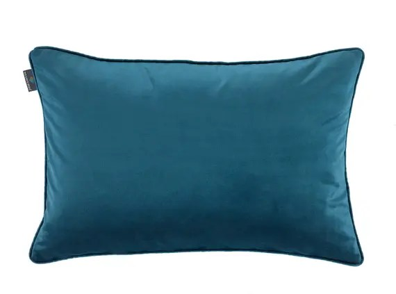 Teal Bedroom Cushion Cover