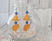 Dangle Leaf Orange / Blue...