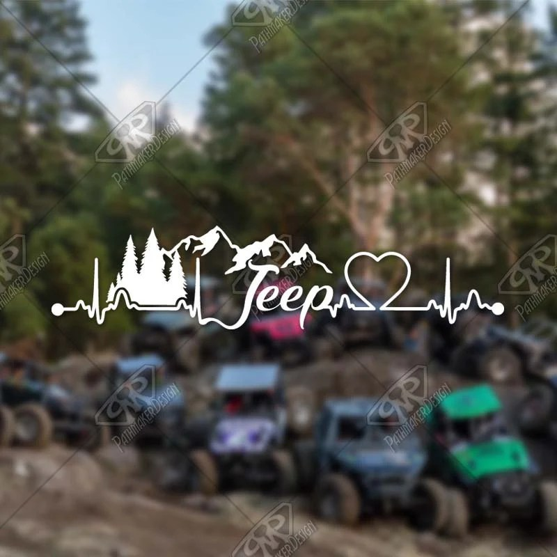 DECAL – [Jeep Heartbeat...