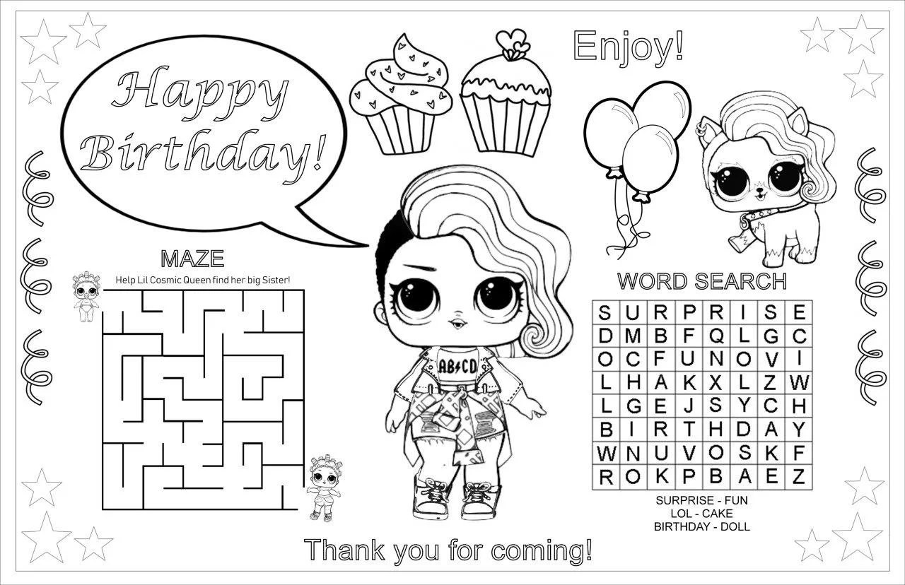 Custom Name Printable Coloring Pages