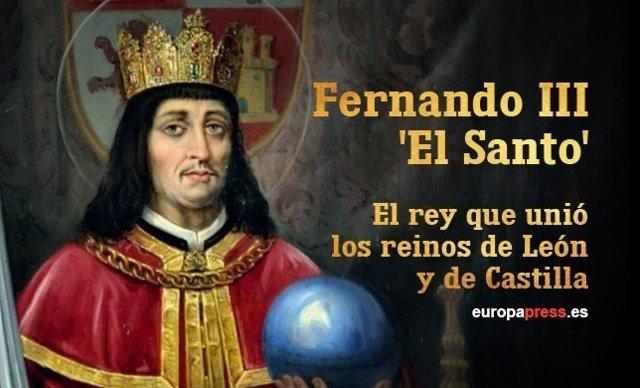 Resultado de imagen para Fotos de Fernando III el Santo, rey de Castilla