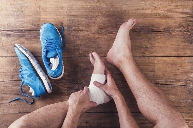 Resultado de imagen para lesion de tobillo