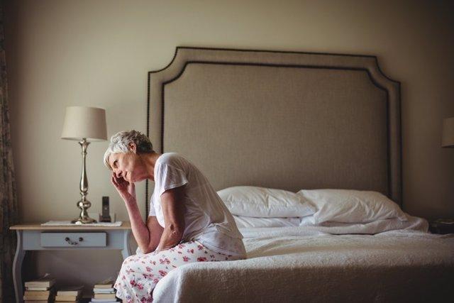 Woman, fibromyalgia