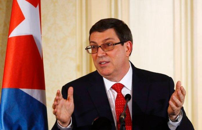 Resultado de imagen para ministro cubano de Exteriores, Bruno Rodríguez