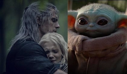 Ciri in The Witcher is like Baby Yoda in The Mandalorian in this great trailer honest