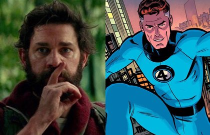 John Krasinski meets with Marvel: The Fantastic 4 come to the UCM?