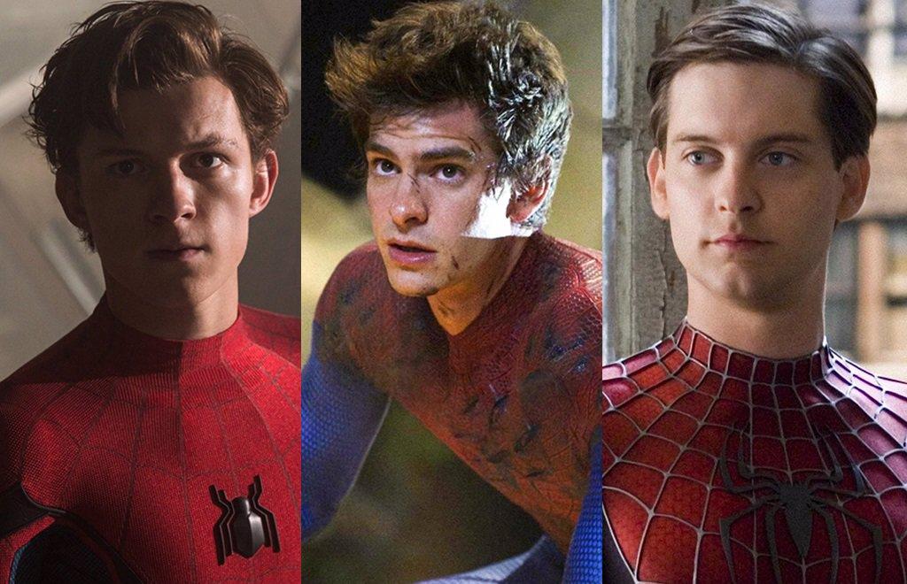 Los Spider-Man de Tom Holland, Andrew Garfield y Tobey Maguire, juntos en una película... ¿el sueño imposible?