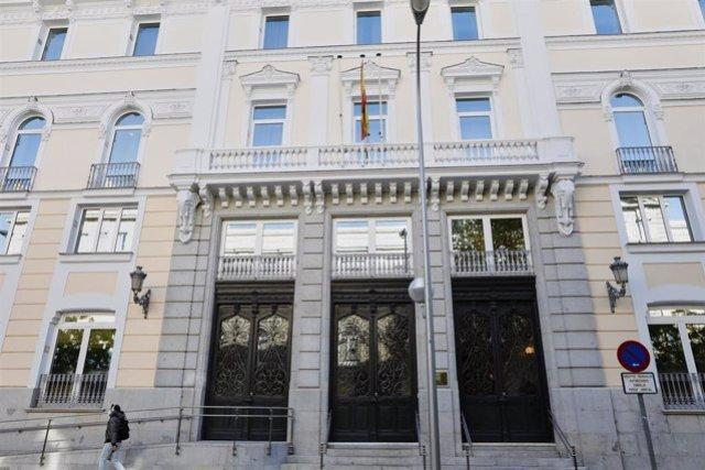 Edificio del Consejo General del Poder Judicial
