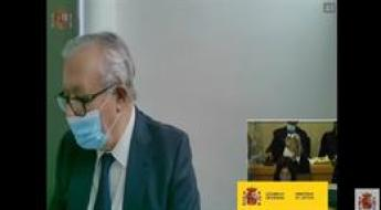Javier Arenas declara en el juicio por la caja B del PP