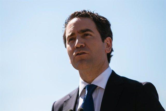 El secretario general del PP, Teodoro García Egea, en una imagen de archivo