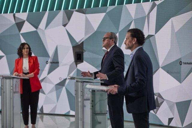 Primer debate electoral previo a los comicios del próximo 4 de mayo