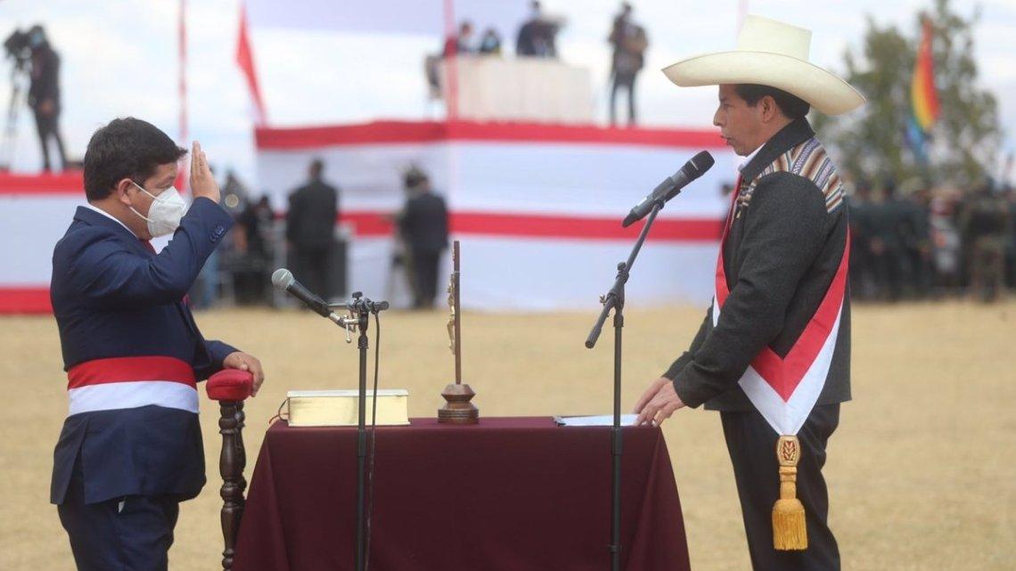 Perú.- La Justicia de Perú admite un 'habeas corpus' que pide anular la designación de Bellido como jefe de Gobierno
