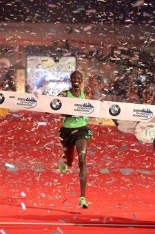 Wilson Kipsagn En El Maratón De Frankfurt