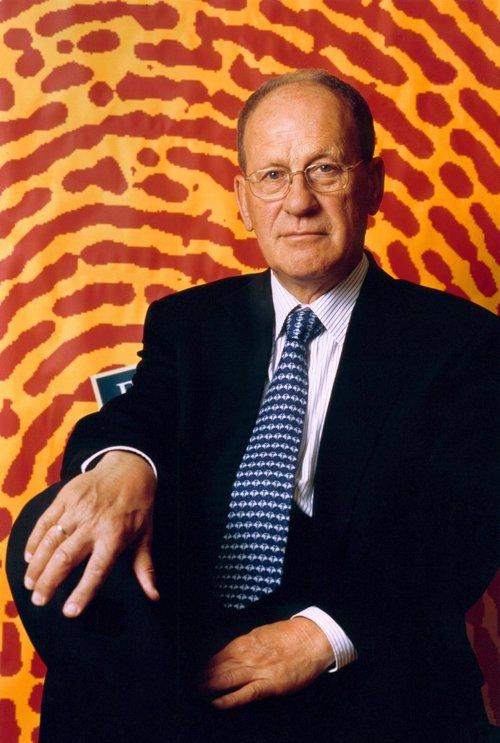 Germán Sánchez Ruipérez, en una foto de la Fundación