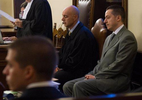 El exmayordomo del Papa, Paolo Gabriele, durante el juicio