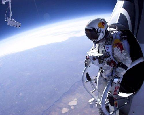 Baumgartner salto en caída libre
