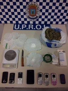 Operación droga Lorca