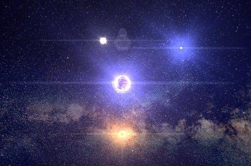 100000 Estrellas En Chrome