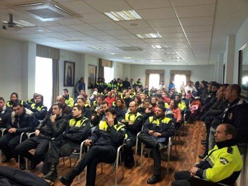 Asamblea del SIP-AN en Málaga