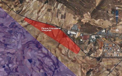 Plano industrial Villacañas