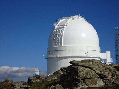 Observatorio Astronomico de Calar Alto en Almeria