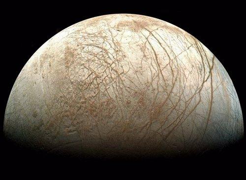 Europa , satélite de Júpiter