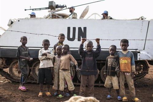 Soldados de la ONU en la República Democrática del Congo