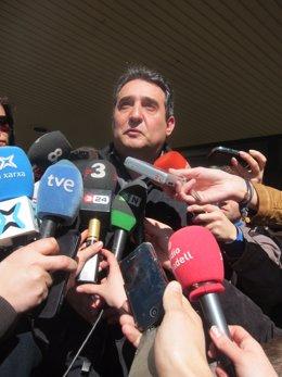 Exalcalde de Sabadell Manuel Bustos tras declarar ante el juez por segunda vez