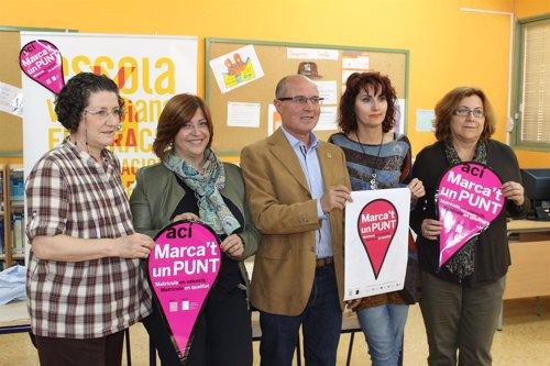 Presentación de la campaña de matriculación en valenciano