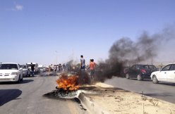 Protestas en Libia, en Benghazi